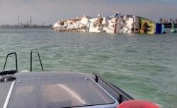 Lật tàu chở gần 15.000 con cừu trên biển Đen
