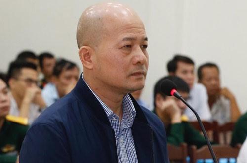 Bị cáo Đinh Ngọc Hệ tại phiên tòa phúc thẩm tháng 11.2018.