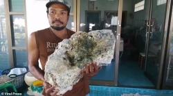 Ngư dân liên tiếp phát hiện vật nghi long diên hương trị giá 15 tỉ đồng