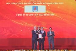 Công ty BSR đứng thứ 7 doanh nghiệp lớn nhất Việt Nam 2019