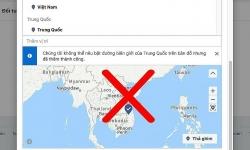 Facebook xoá Trường Sa, Hoàng Sa khỏi bản đồ Việt Nam