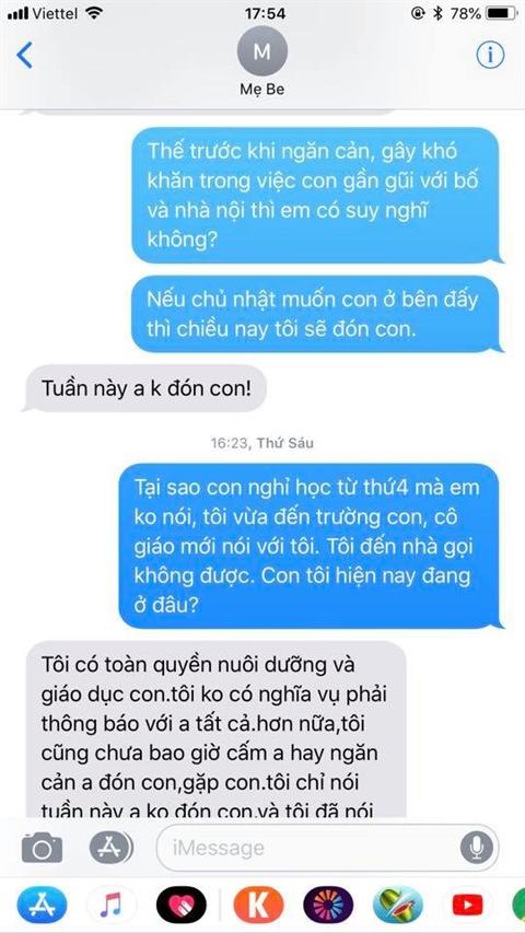 sau ly hon chi nhan thu quynh bat ngo day song