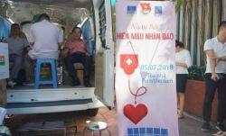 ngay hoi hien mau trai tim hong tinh nguyen nam 2019