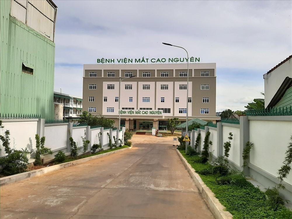 Bệnh viện mắt Cao Nguyên, 6 tháng nhưng yêu cầu thanh toán bảo hiểm y tế 24,2 tỉ đồng, trong khi dự toán kinh phí giao cả năm chỉ có 18,6 tỉ đồng. Ảnh Phong Nam