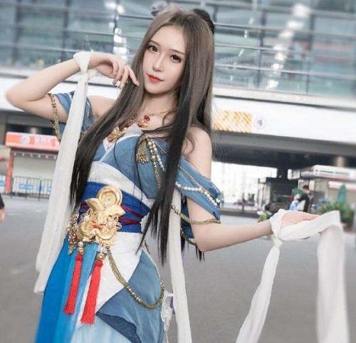 Thao thức suốt đêm với loạt ảnh nóng bỏng của 'đệ nhất nữ thần' cosplay Trung Quốc - Ảnh 4