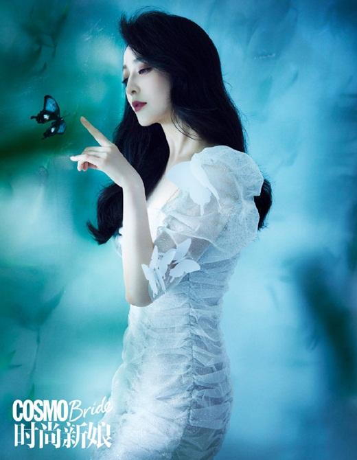 Phạm Băng Băng diện váy cưới đẹp như tiên tử - Ảnh 5