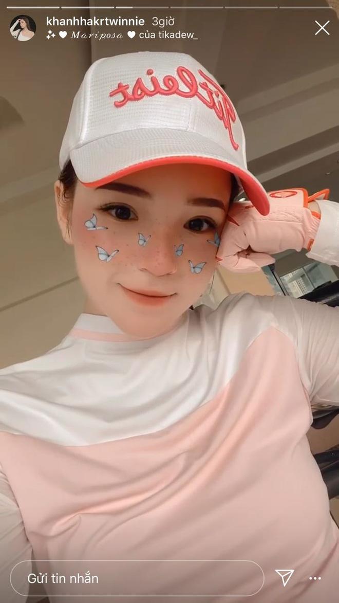 Check-in ở sân golf, bạn gái thiếu gia Phan Hoàng khoe body đẹp hút hồn, độ sang chảnh khó ai bì kịp - Ảnh 3