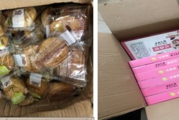 Thu giữ hàng nghìn chiếc bánh trung thu nghi nhập lậu