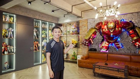 Choáng ngợp với cơ ngơi 'khủng' và gia tài đồ sộ của dàn Youtuber Việt  - Ảnh 2