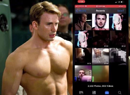 'Captain America' để lộ ảnh nhạy cảm, từ khóa Chris Evans đứng top Twitter toàn thế giới - Ảnh 1