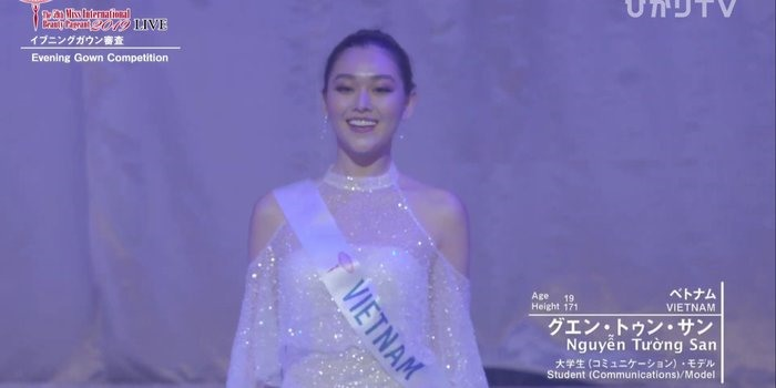 a hau tuong san xuat sac lot top 8 miss international 2019