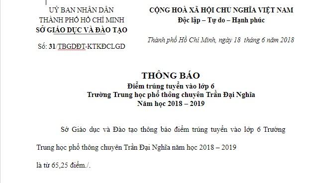 them truong chat luong cao o ha noi to chuc thi tuyen vao lop 6