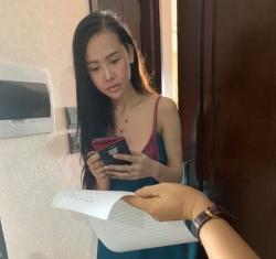 khoi to hot girl dieu hanh duong day gai goi cao cap ngan do