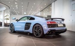 Ngắm Audi R8 V10 với ngoại nội thất hai tông màu độc đáo
