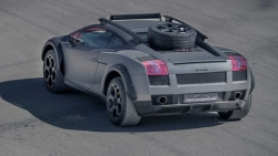 can canh lamborghini gallardo voi goi do off road doc dao