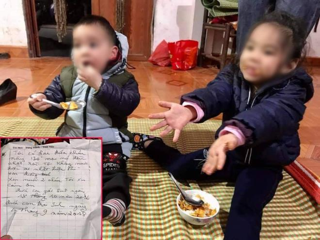 Vụ 2 cháu nhỏ nghi bị bỏ rơi giữa trời giá rét ở Hà Nội: Người đang nuôi dưỡng tiết lộ gì? - Ảnh 1
