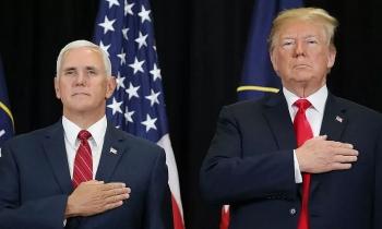 Trump, Pence gặp mặt sau bạo loạn quốc hội