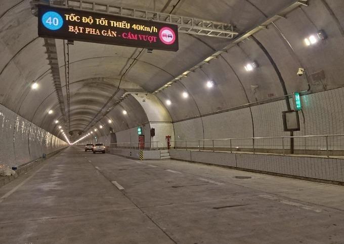 Vì sao hầm Hải Vân 2 vừa khánh thành lại sắp đóng cửa?