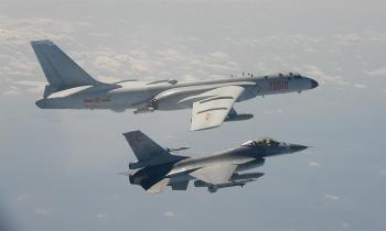 Tiêm kích Trung Quốc liên tiếp diễn tập sát đảo Đài Loan