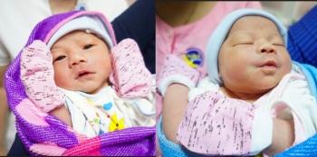 Sản phụ đẻ rơi một bé ở nhà, một bé tại bệnh viện