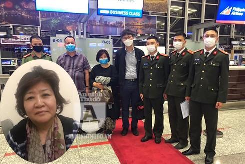 """Tạm giữ chờ bàn giao, """"nữ quái"""" lừa đảo người Hàn Quốc được đảm bảo sức khỏe vì Covid-19"""