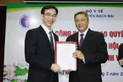 GS.TS Nguyễn Quang Tuấn được bổ nhiệm làm Giám đốc Bệnh viện Bạch Mai