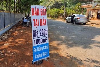 binh phuoc sot dat ao sau thong tin xay san bay 500 ha
