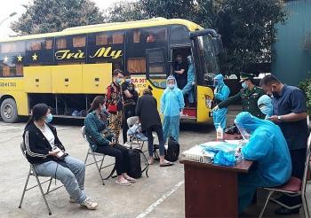 Xe khách chở 53 người Trung Quốc nhập cảnh trái phép