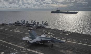 Mỹ tăng thách thức Trung Quốc ở Biển Đông dưới thời Trump