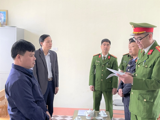 Khởi tố Trưởng Ban quản lý dự án huyện Ngọc Lặc, Thanh Hóa  - 1