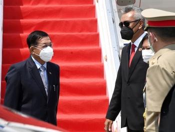 ASEAN mở hy vọng từ cuộc gặp với thống tướng Myanmar