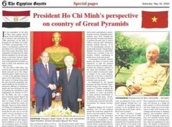 Báo chí thế giới ca ngợi Chủ tịch Hồ Chí Minh