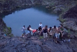 Rủ nhau tắm dưới chân đập thủy lợi, 2 học sinh bị đuối nước