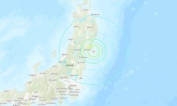 Động đất 6,8 độ ở Nhật Bản