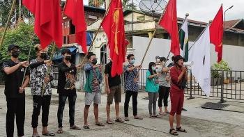 Bom tự chế liên tiếp nổ ở Myanmar