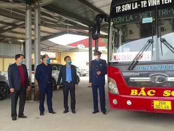 Xe khách không được dừng tại Vĩnh Phúc