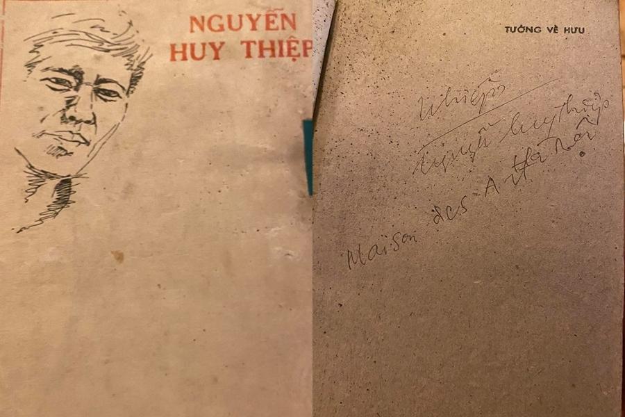 """Đấu giá cuốn """"Tướng về hưu"""" của Nguyễn Huy Thiệp"""