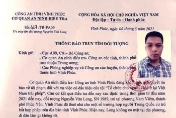 Vĩnh Phúc: Truy tìm kẻ thuê nhà cho người Trung Quốc cư trú bất hợp pháp