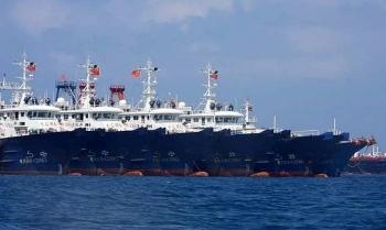 Philippines nói gần 300 tàu Trung Quốc xuất hiện gần Trường Sa
