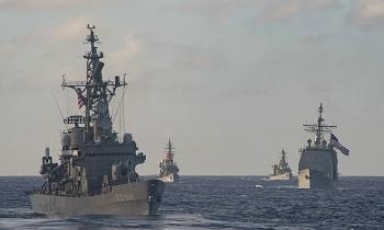 """Trung Quốc nói Mỹ, Nhật """"phí dầu"""" diễn tập"""