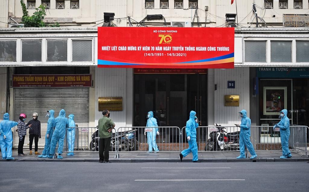 4 ca nghi mắc Covid-19 ở Hà Nội