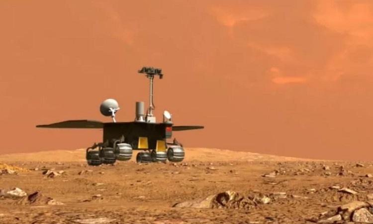Tàu Trung Quốc bắt đầu hoạt động trên sao Hỏa