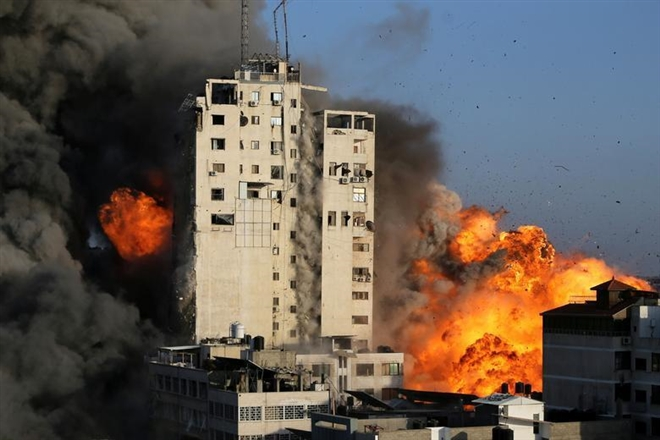 Căng thẳng leo thang, số người chết trong xung đột Israel-Hamas tăng mạnh - 1