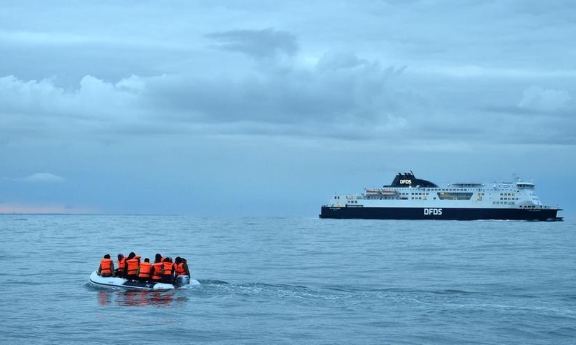 Bỉ cứu hàng chục người Việt gặp nạn trên biển