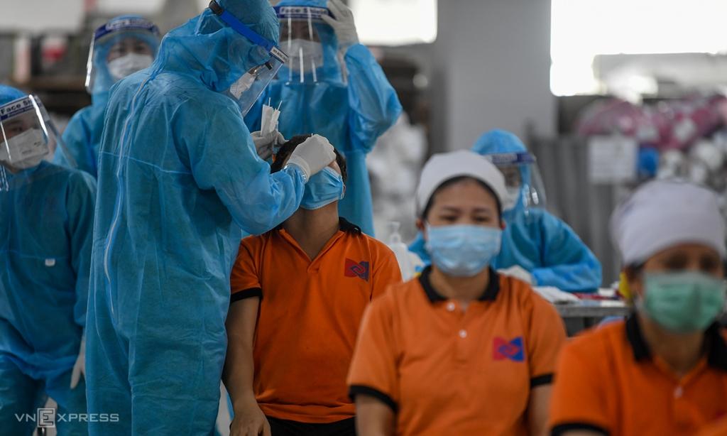 Bắc Giang tăng thêm 500 giường điều trị Covid-19