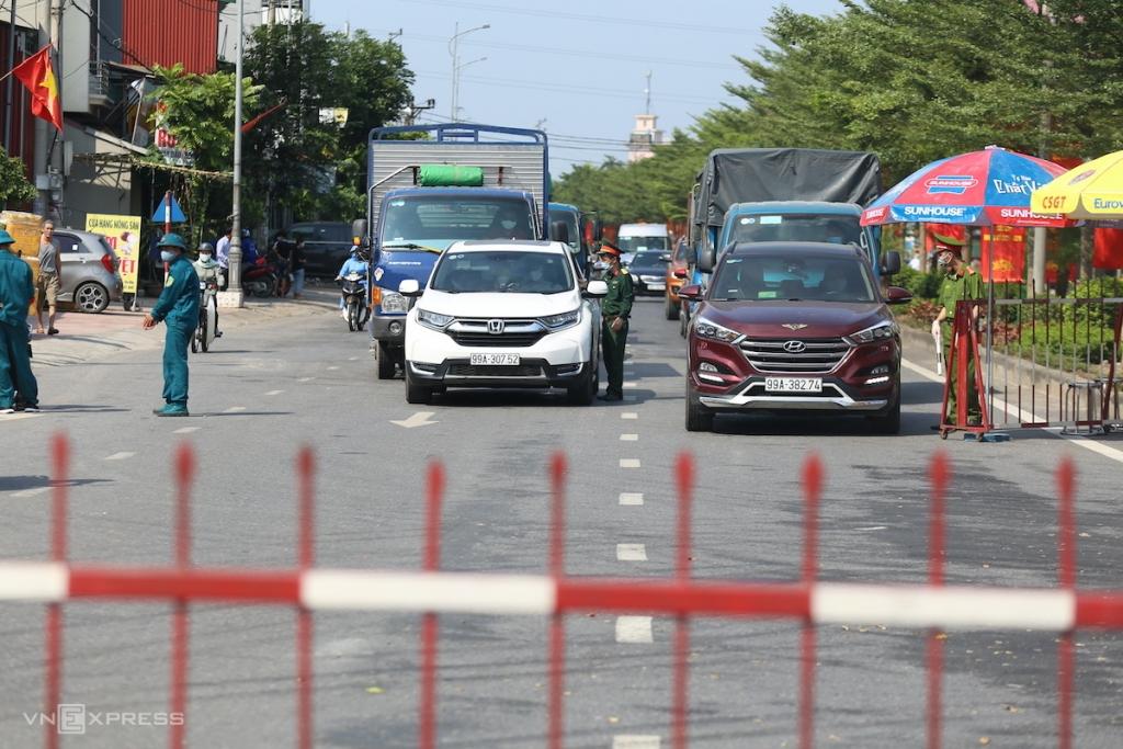 Bắc Ninh yêu cầu người dân không ra đường sau 20h