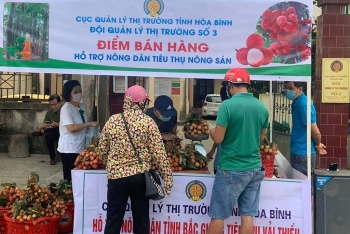 2,5 tấn vải Bắc Giang được Quản lý thị trường