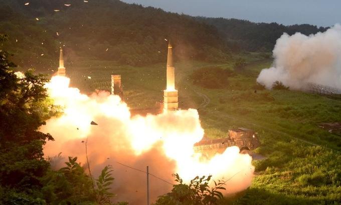 Triều Tiên chỉ trích Mỹ gỡ hạn chế tên lửa với Hàn Quốc