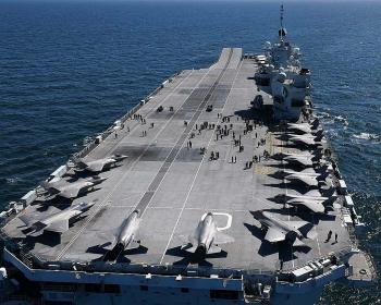 Hai mục tiêu của Anh khi điều tàu sân bay đến châu Á