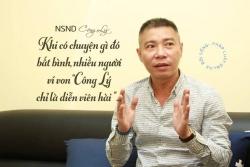 NSND Công Lý: Họ nói về công lý pháp luật, chứ không phải ông Nguyễn Công Lý